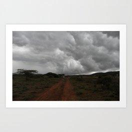 Storm Awaits Art Print