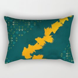 Forest yellow brick road #society6 Rectangular Pillow