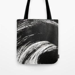 Black an White Tote Bag