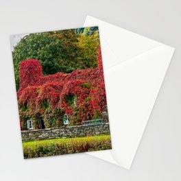 Autumn Tea House Llanrwst Wales Stationery Cards