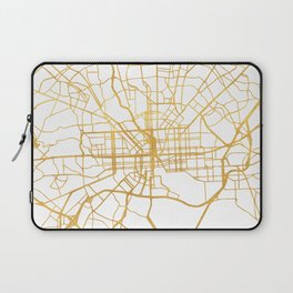 BALTIMORE MARYLAND CITY STREET MAP ART Laptop Sleeve
