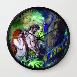 Paradise Lost Wall Clock