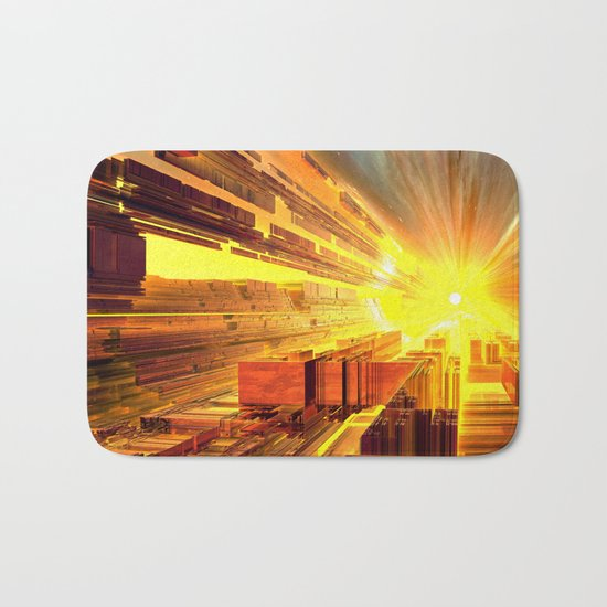 Retro Future Perfect Bath Mat
