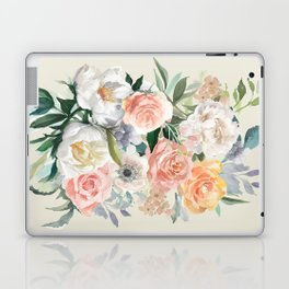 Bouquet With Roses Laptop & iPad Skin