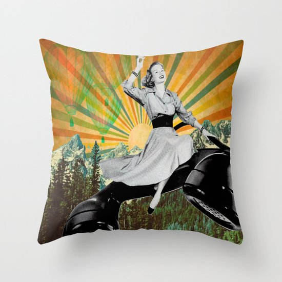 To infinity and beyond! Throw Pillow