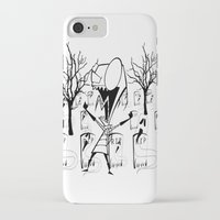 invader zim iPhone & iPod Cases featuring invader zim by LCMedia