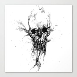 SAND SKULL Canvas Print