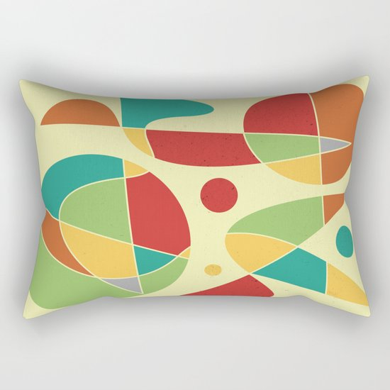 Abstract #135 Rectangular Pillow