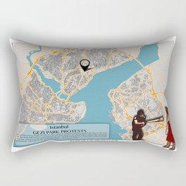 Atlas of Inspiring Protests; ISTANBUL Rectangular Pillow