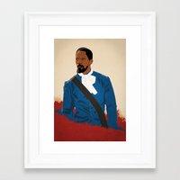 django Framed Art Prints featuring Django by Anton Lundin