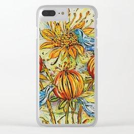Seedburst Clear iPhone Case