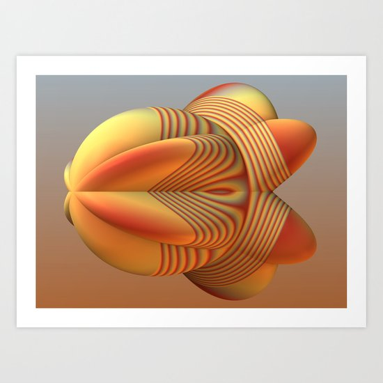 The Blimp Art Print