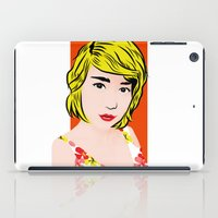 popart iPad Cases featuring popart  by Biansa Naiyananont