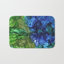 Mining for Gold by the River's Edge by Studio 1153 Bath Mat