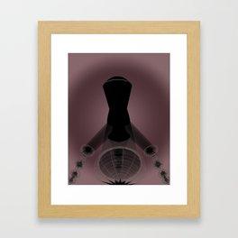 Light Illustration Framed Art Print