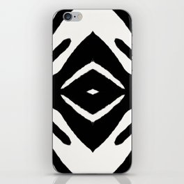 Black Ink Medallion by Juul iPhone Skin