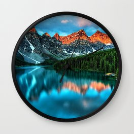 Lake Louise - Alberta, Canada Landscape Wall Clock