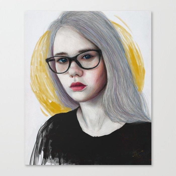 Anasteysha Canvas Print