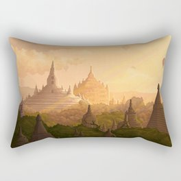 Bagan Myanmar Rectangular Pillow