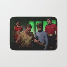 Kirk, McCoy, Scotty and Uhura from Mirror Universe Bath Mat