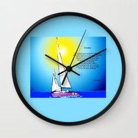 destiny Wall Clocks featuring Destiny by Artisimo (Keith Bond)