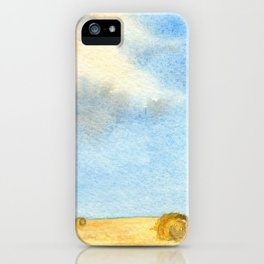 Prairie Sky iPhone Case