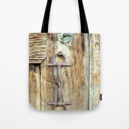 Old Door Knob Tote Bag