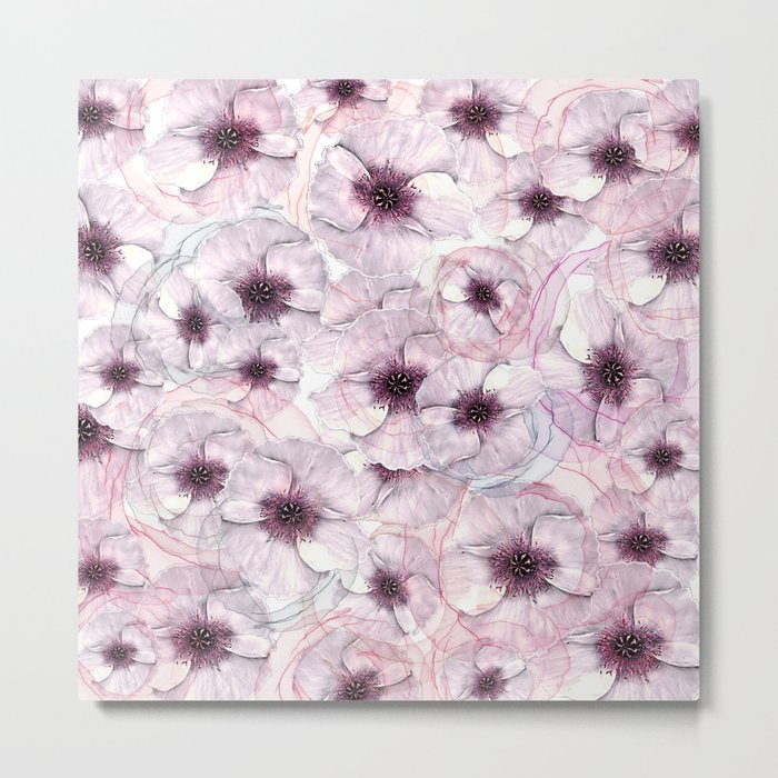 Flower carpet(53). Metal Print