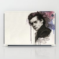 harry styles iPad Cases featuring Harry Styles by bellavigg