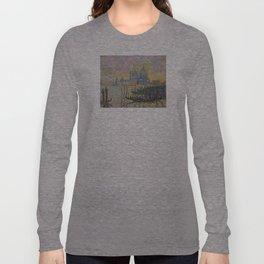 Grand Canal (Venice) - Paul Signac Long Sleeve T-shirt