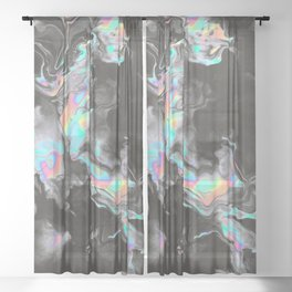 SPACE & TIME Sheer Curtain