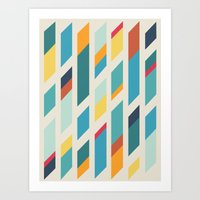 quilt Art Prints featuring Quilt by Evan Hinze