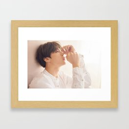 Jimin / Park Ji Min - BTS Framed Art Print