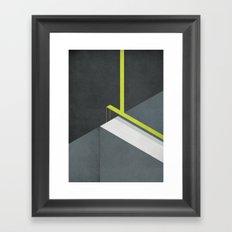 Off The Deep End Framed Art Print