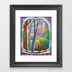 View Through Rainbow Eyes Framed Art Print