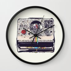 COLOR BLINDNESS Wall Clock