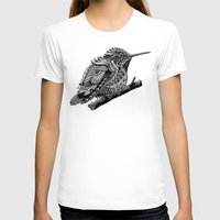 hummingbird T-shirts featuring Hummingbird by BIOWORKZ