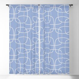 Square Pattern Serenity Blackout Curtain
