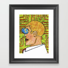 TECHNOCRAT Framed Art Print