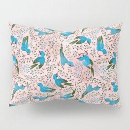 Birds in Spring Pillow Sham