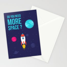Do you need more Space? Stationery Cards