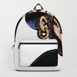 Buccaneer Eye Patch Scratchboard Backpack