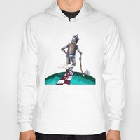 kansas Hoodies featuring We're not in Kansas anymore by Timone