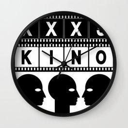 XXXS KINO HEAD FILMSTRIP Wall Clock