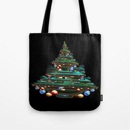 Fractal Christmas Tree Tote Bag