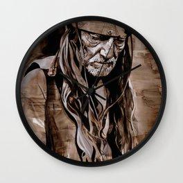 Sepia Willie Wall Clock