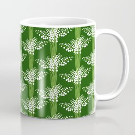 lily of the valley pattern Coffee Mug