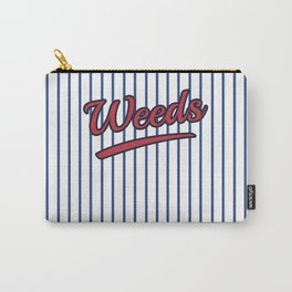Weeds Typographic Design Carry-All Pouch