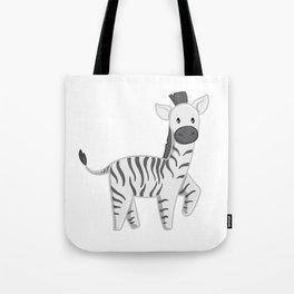 Zebra - Zoo Animals Tote Bag