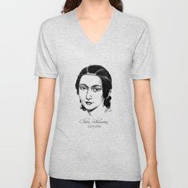 Clara Schumann Unisex V-Neck